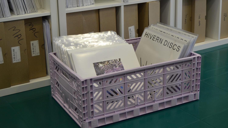 Hivern Discs vinyl records storage