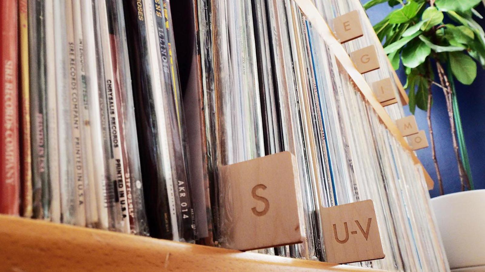Vinyl Record Storage Dividers Koeppel Design