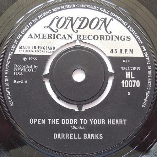 Darrell Banks – Open The Door To Your Heart