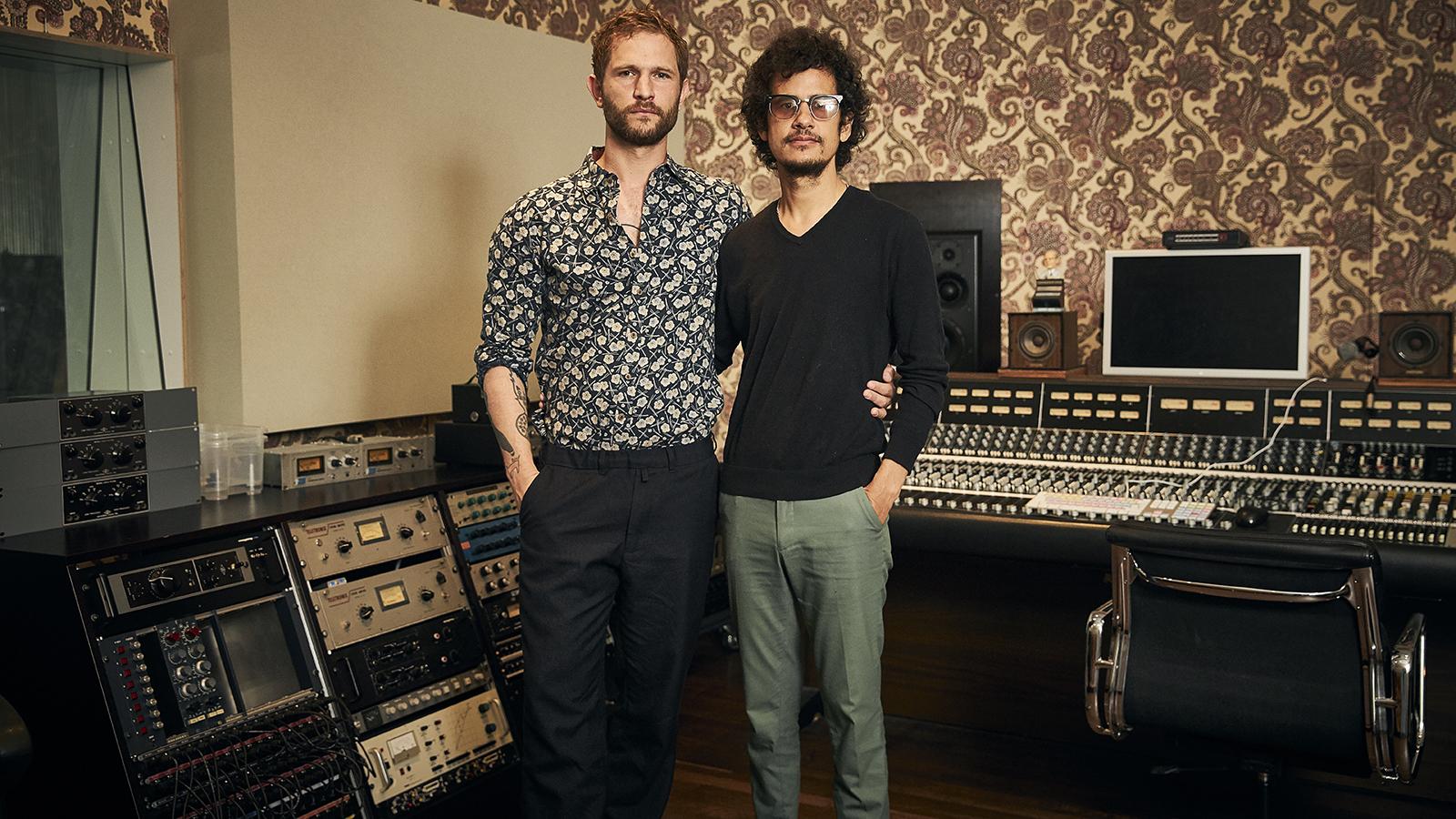 Clouds HIll Recordings Johann Scheerer & Omar Rodríguez-López by Marius Drews