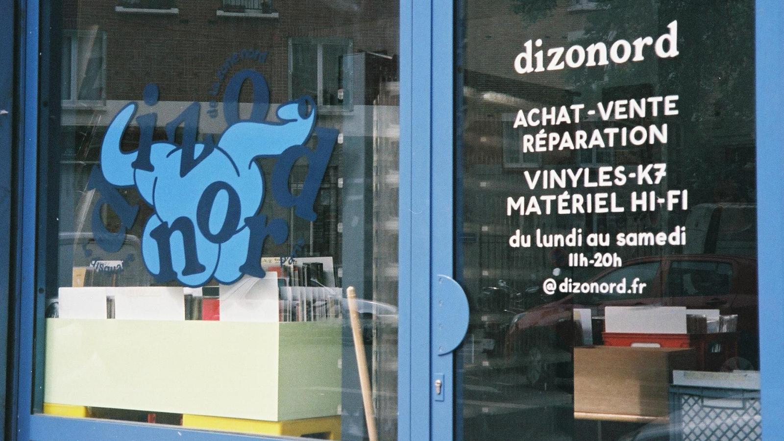 dizonord record store front