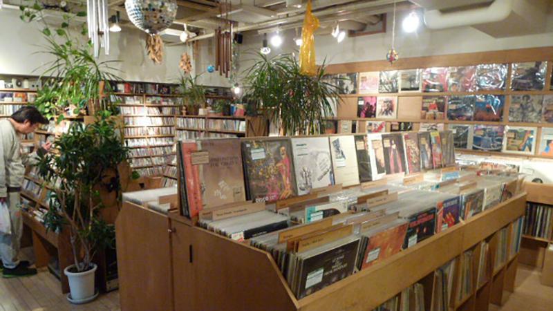 Coconuts Disks Ekoda record store tokyo japan