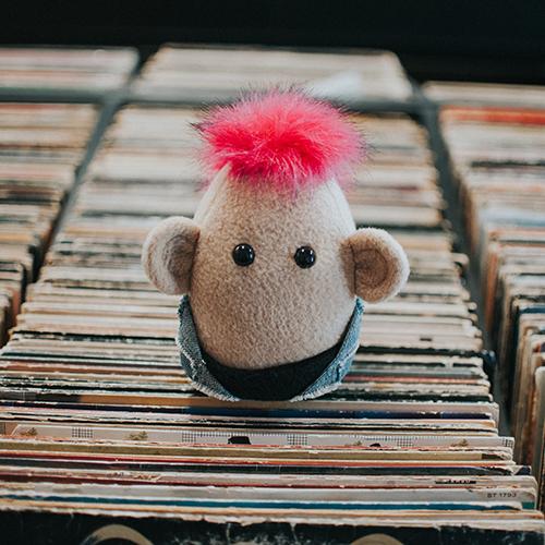 Jesse Carl Vinyl Record Store