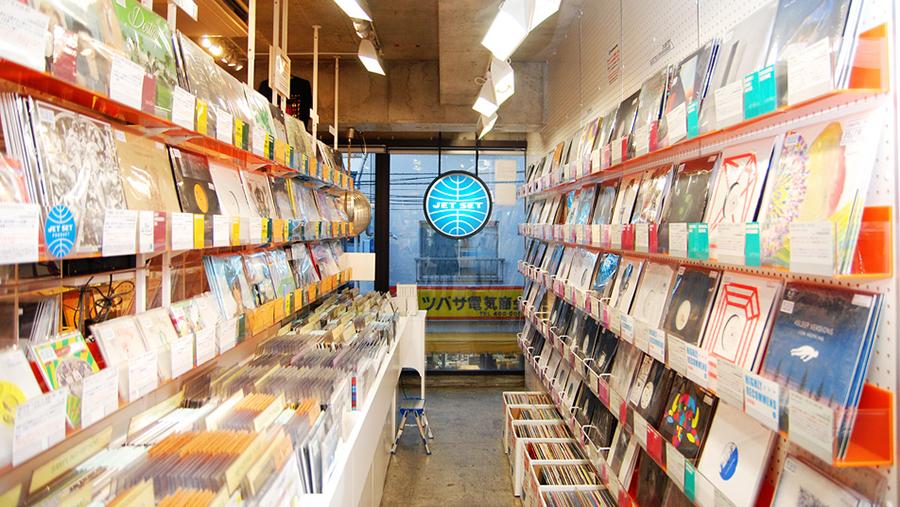 Jet Set Records record store tokyo japan