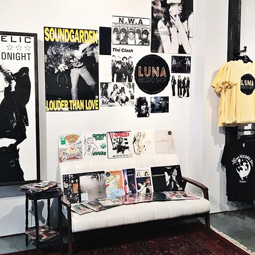 Luna Record Shop Record Store