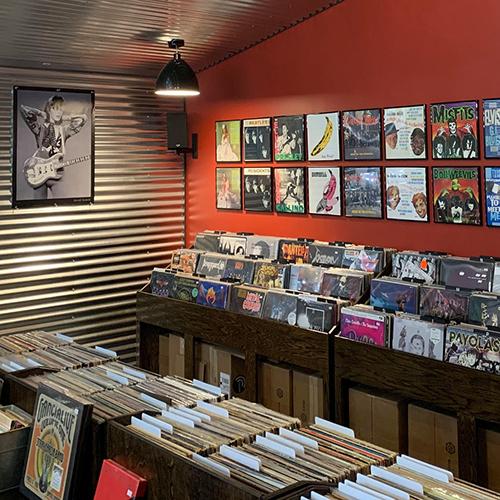 Melusina Records Record Store