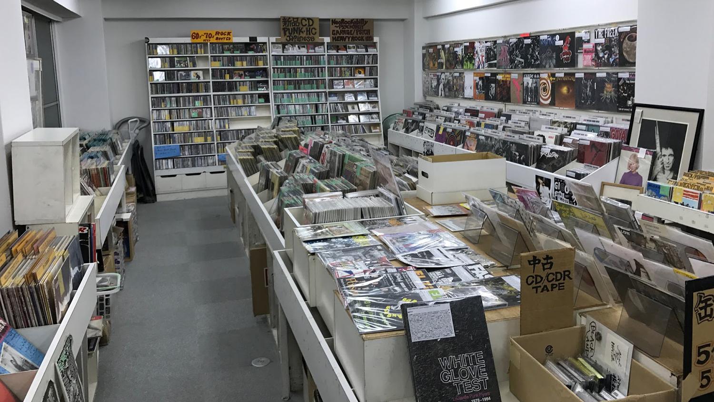 Nat Records record store tokyo japan