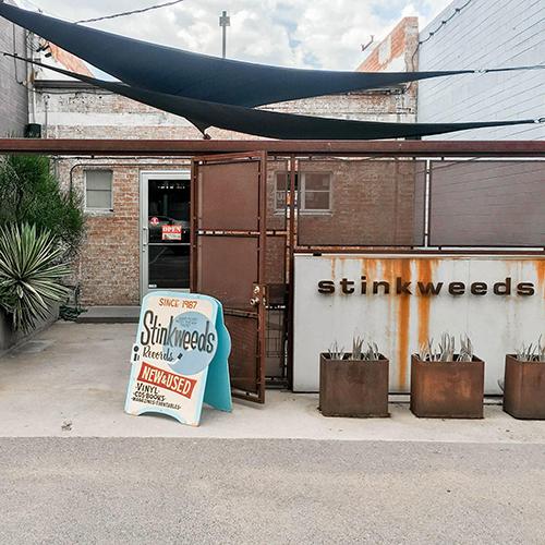 Stinkweeds Records Record Store