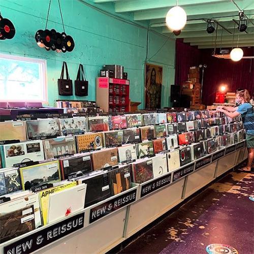 Sweat Records Record Store