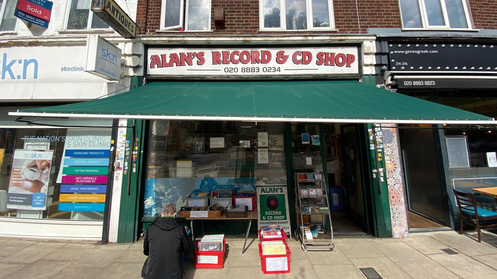 alans record store london