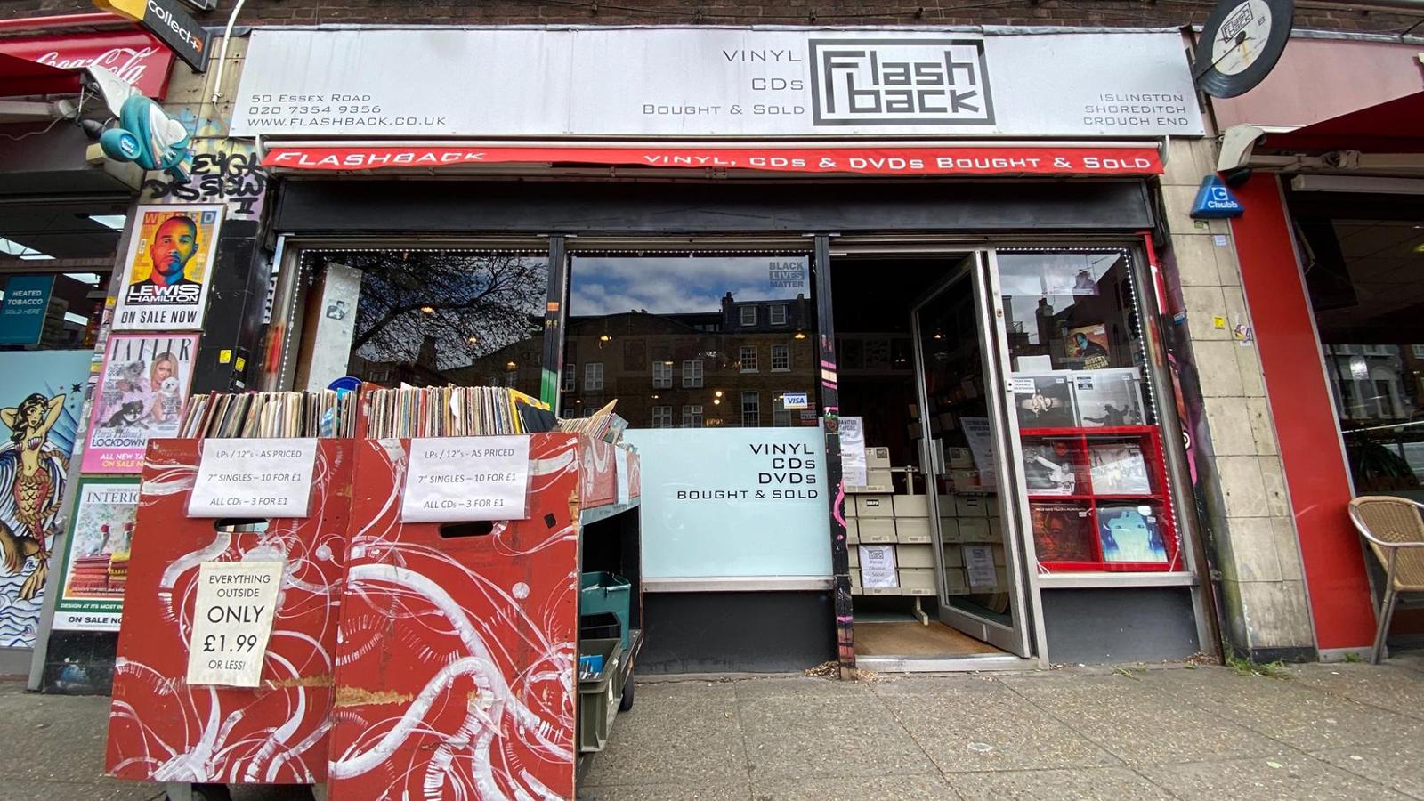 flashback record store north london