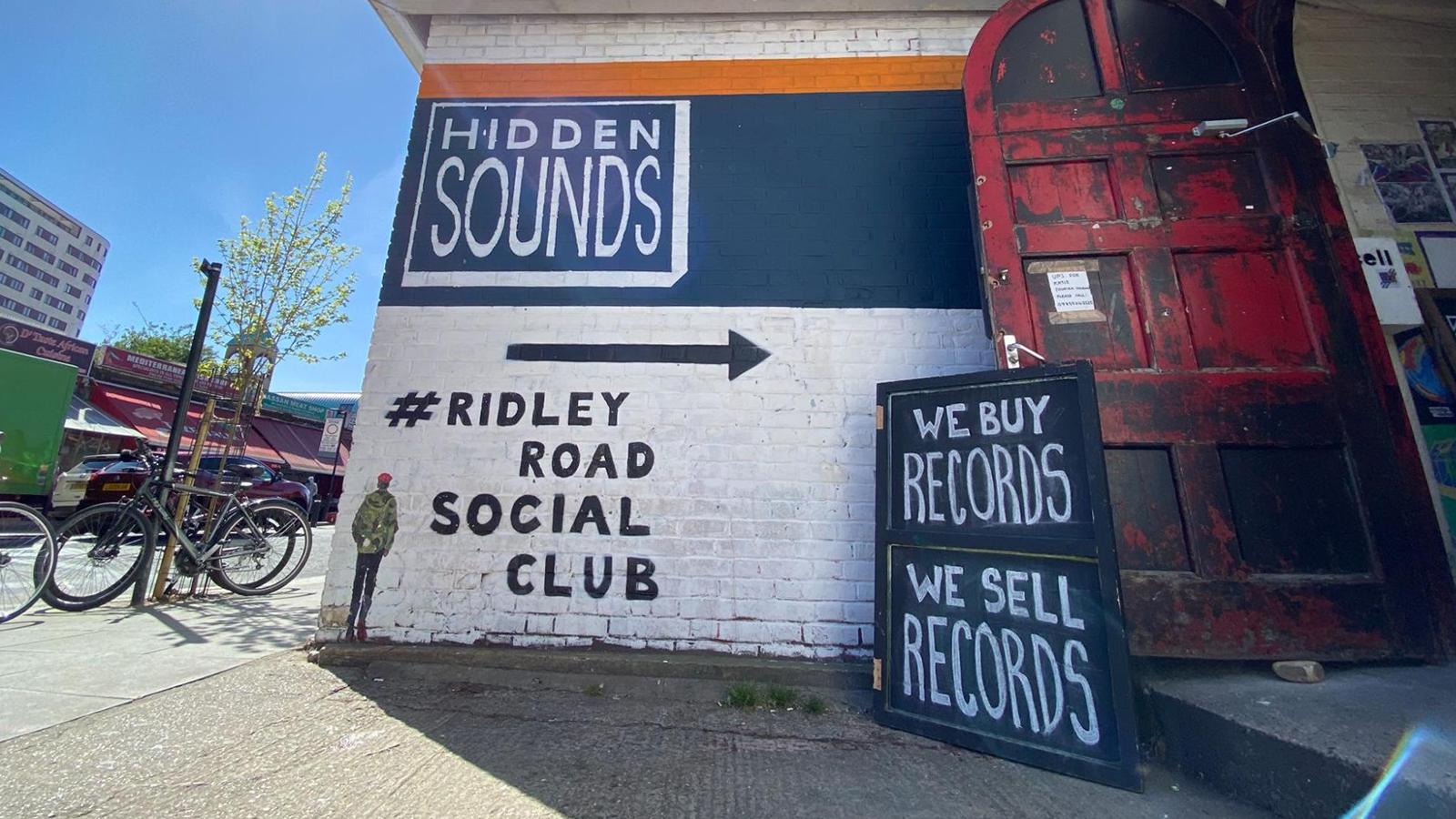 hidden sounds record store london