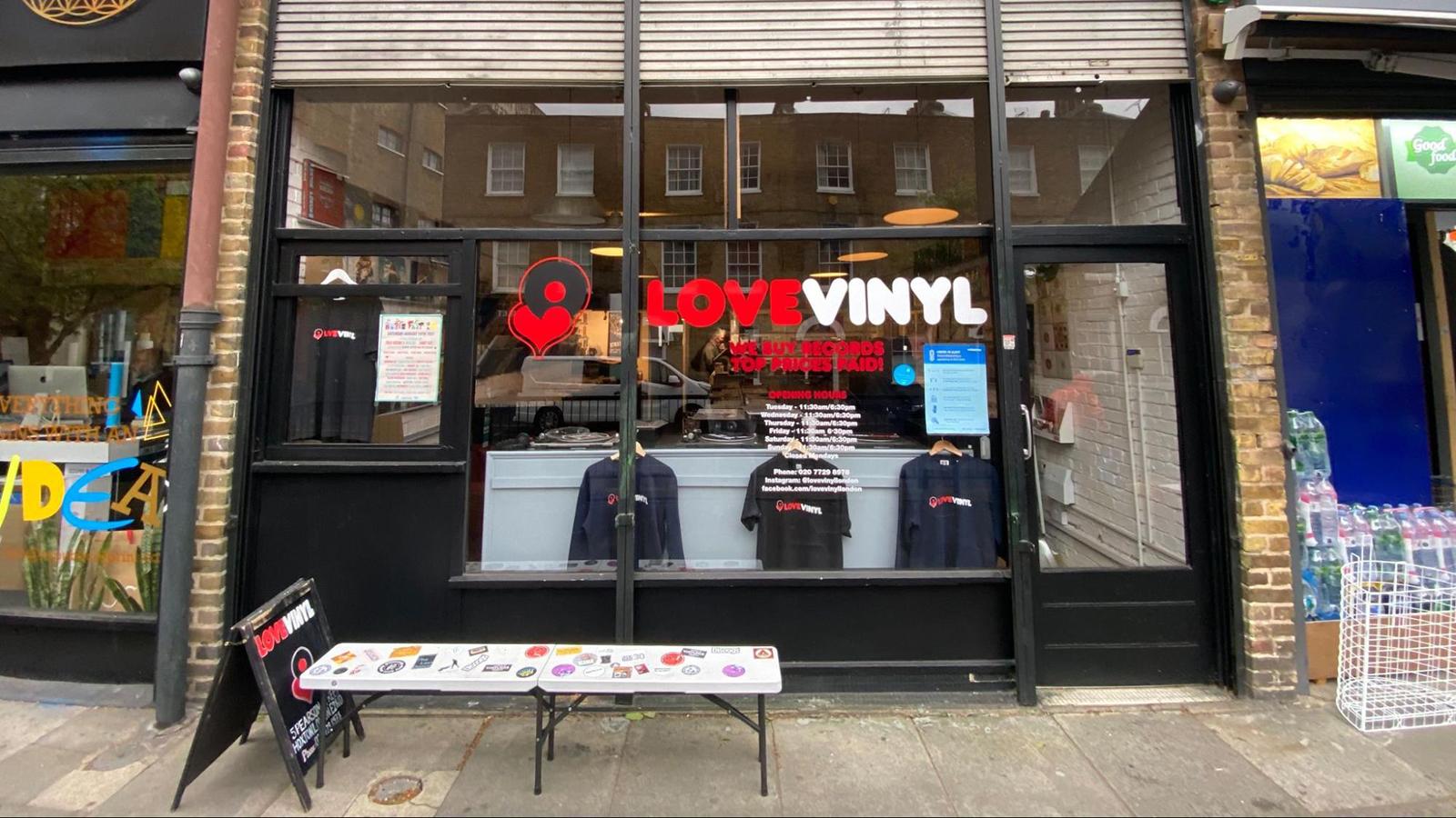 love vinyl record store london