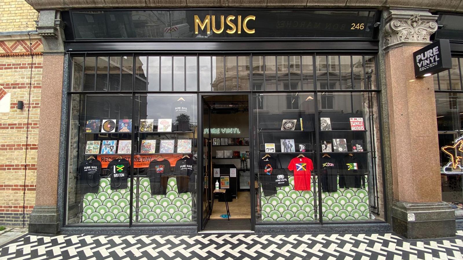 pure vinyl record store london