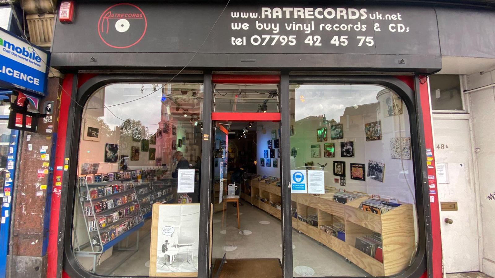 rat records record store london