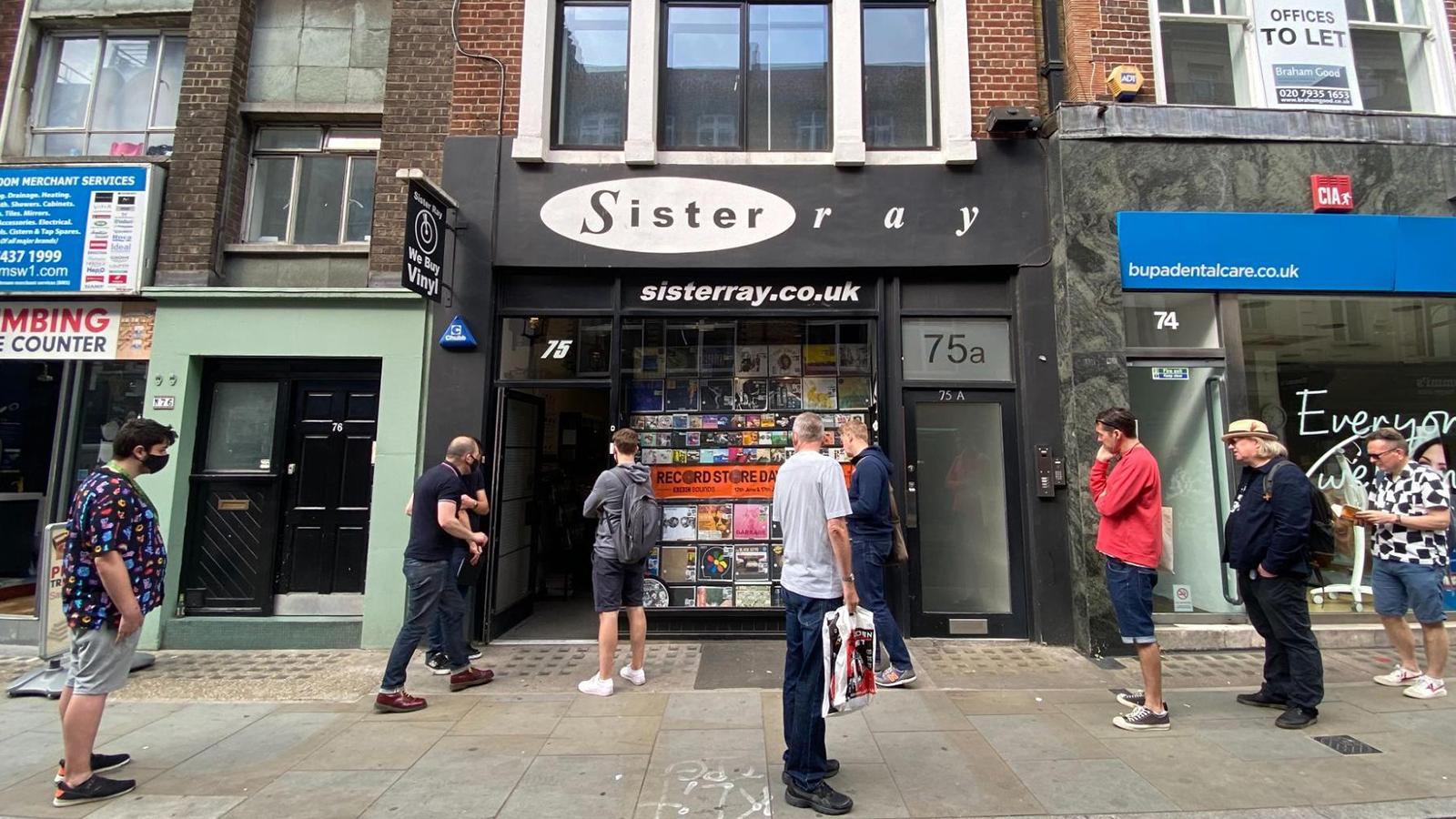sister ray record store london