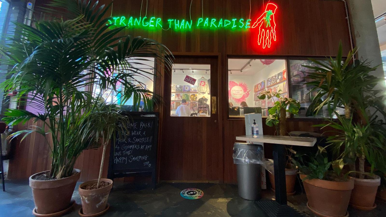 stranger than paradise record store london