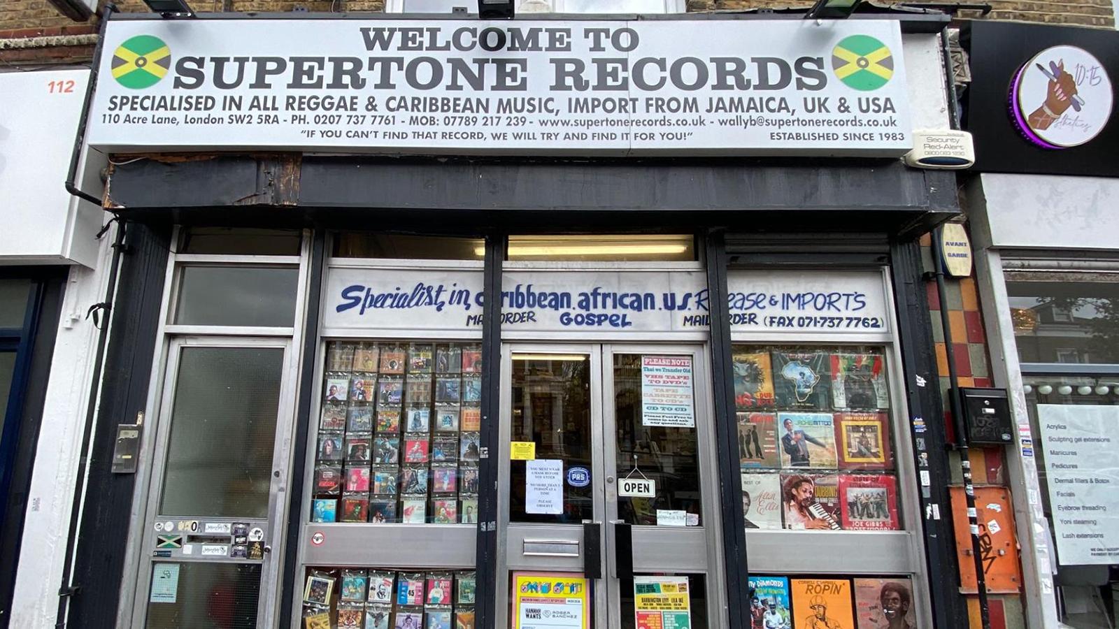 supertone records record store london