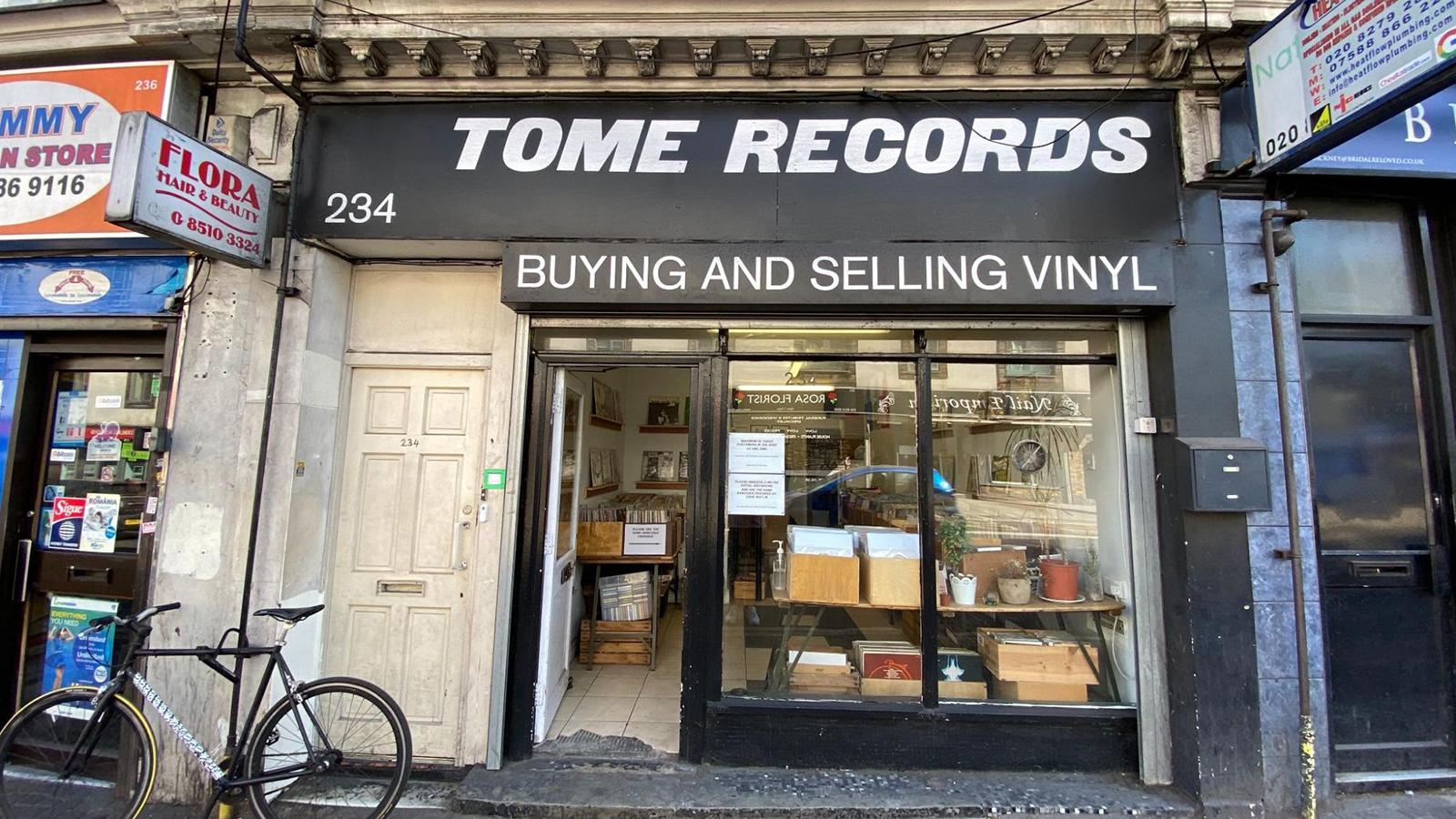 tome records record store london