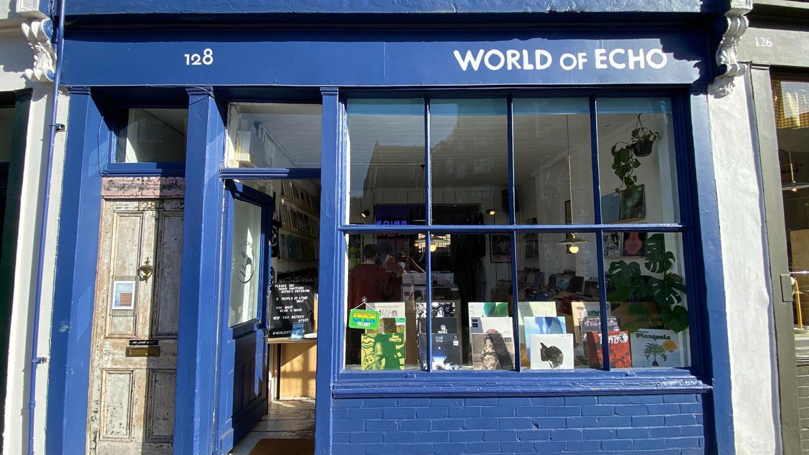 world of echo record store london