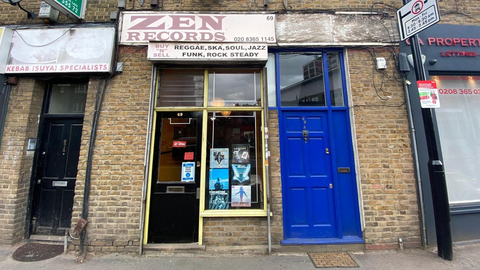 zen records record store london