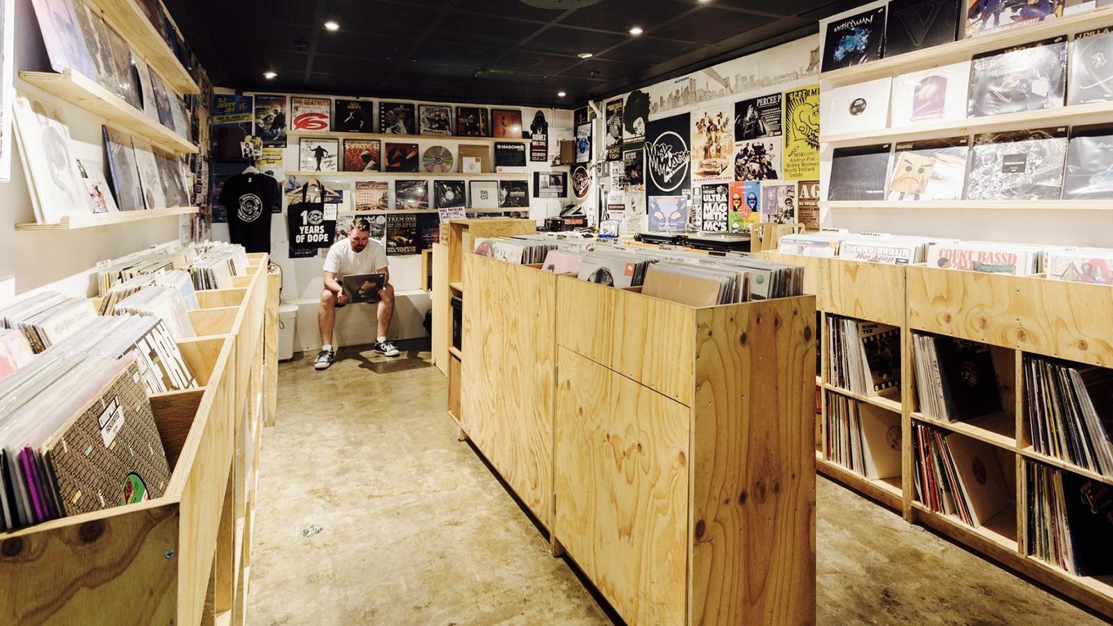 Wax Museum Records record store melbourne australia