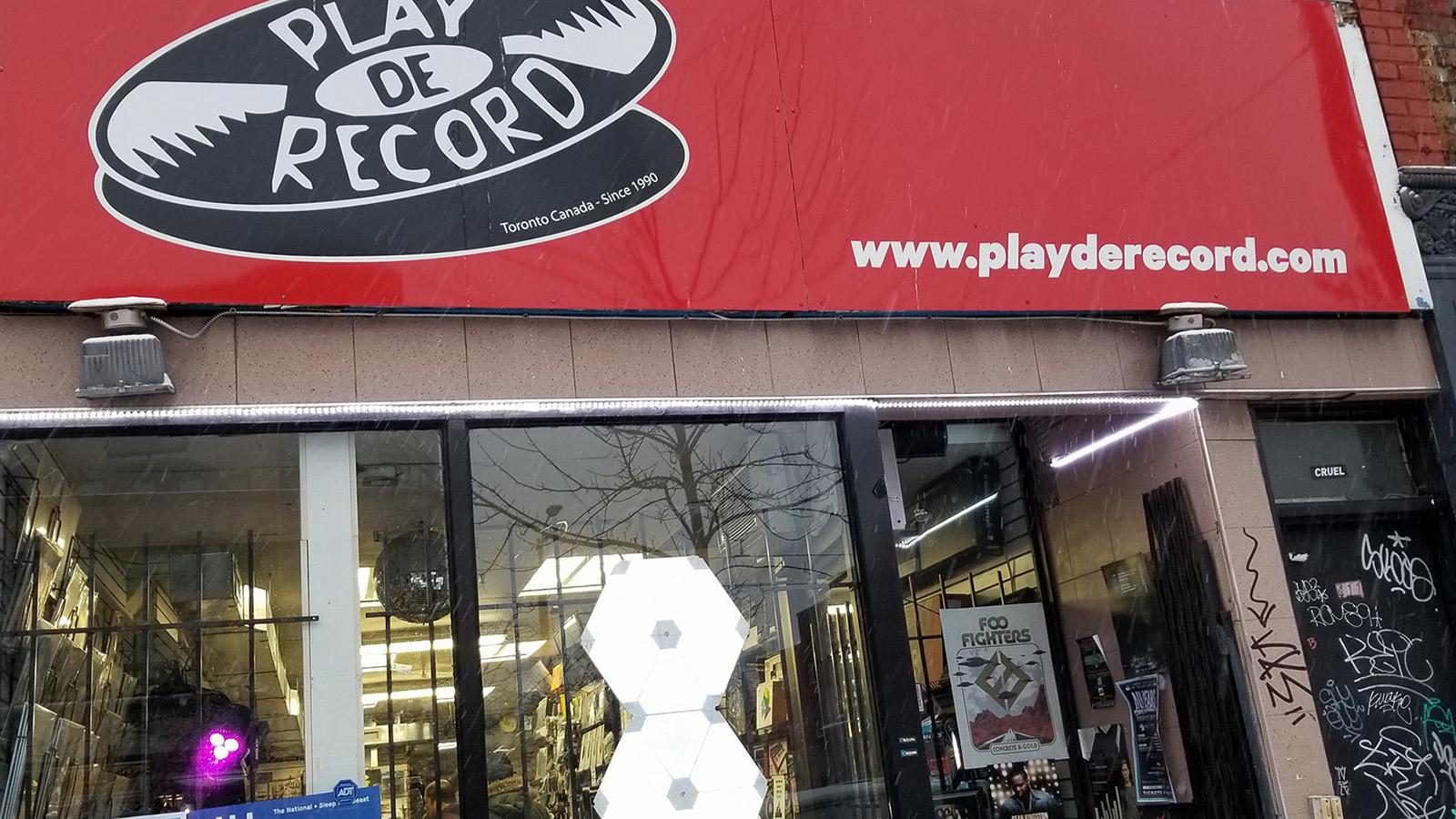 play de record toronto ontario canada record store