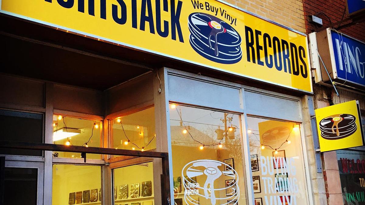 shortstack records toronto ontario canada record store