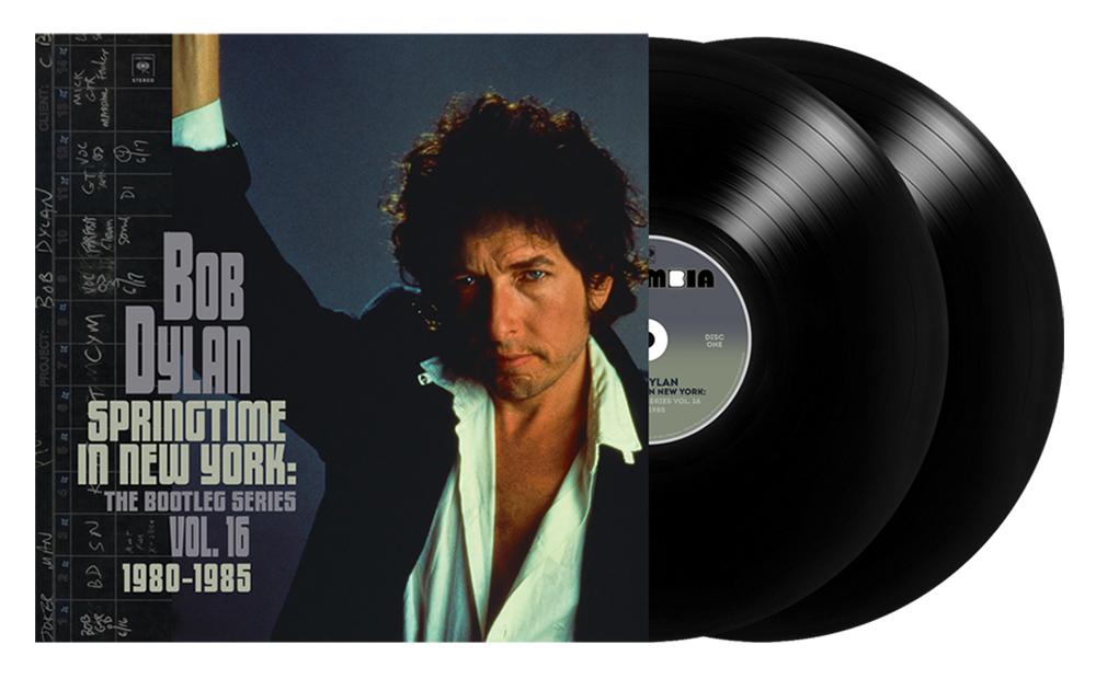 bob dylan springtime in new york volume 16 album cover
