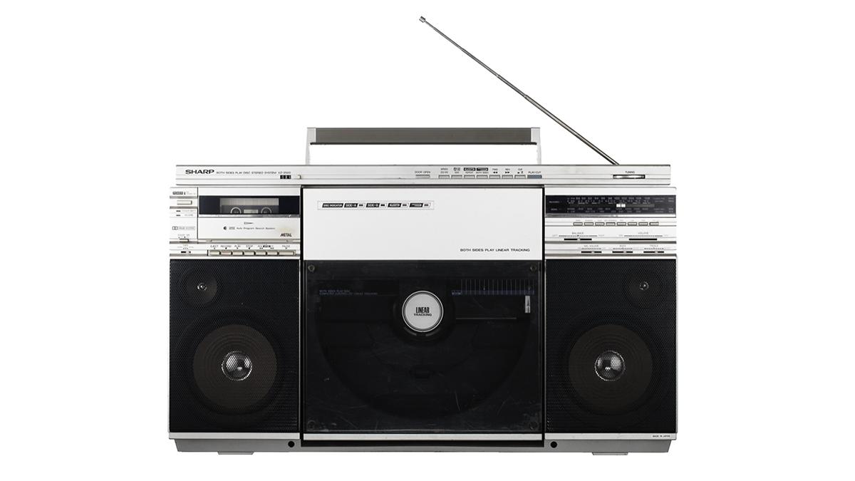 Boombox Cassettes SHARP VZ 2500
