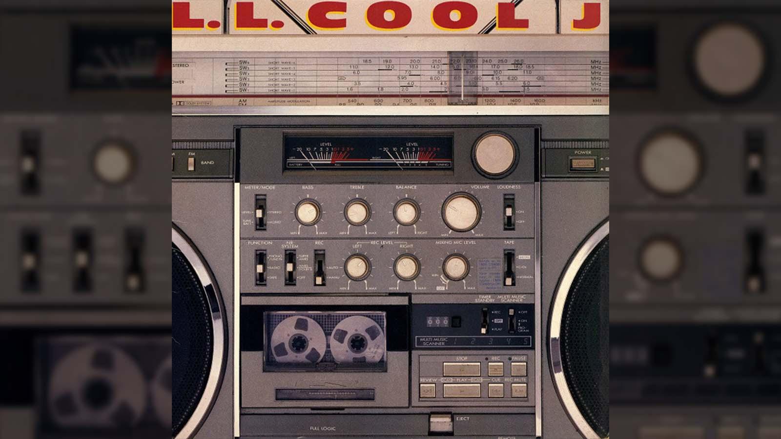 Boombox JVC RC-M90 LL Cool J album cover